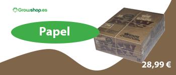 Caja de papel de fumar Raw