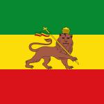 Bandera del Imperio de Etiopía